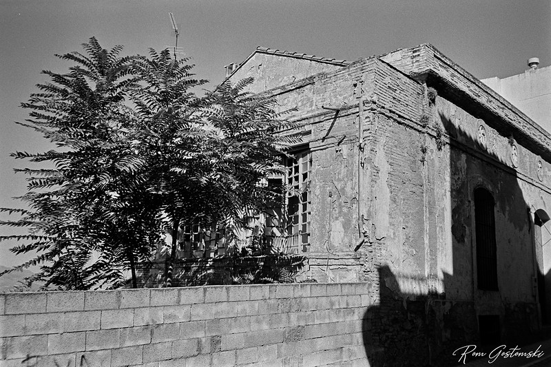An old abandoned building in Alcaudete