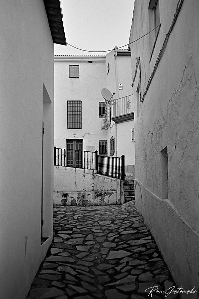 An alley in Carchelejo
