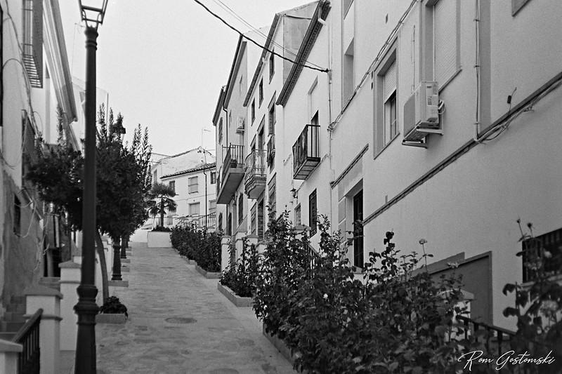 Carchelejo. A pretty pedestrianised street