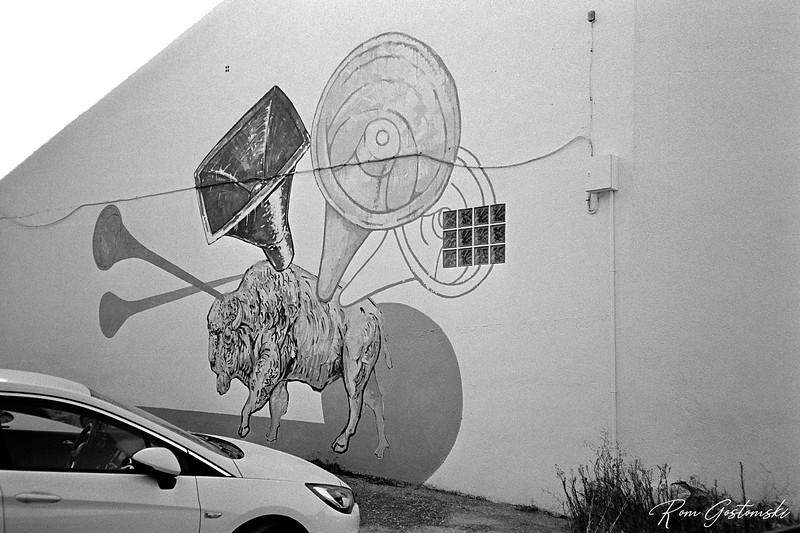 Mural in Carchelejo