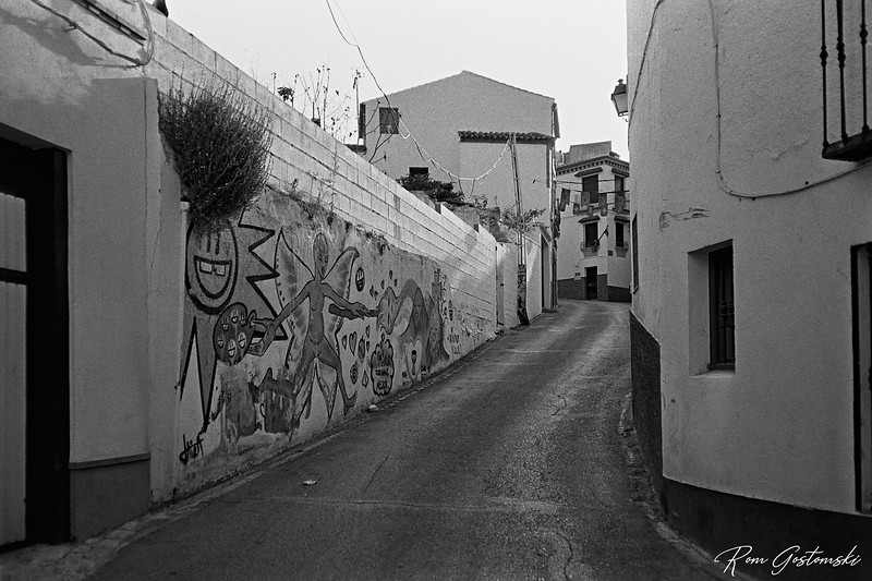 Another mural in Carchelejo