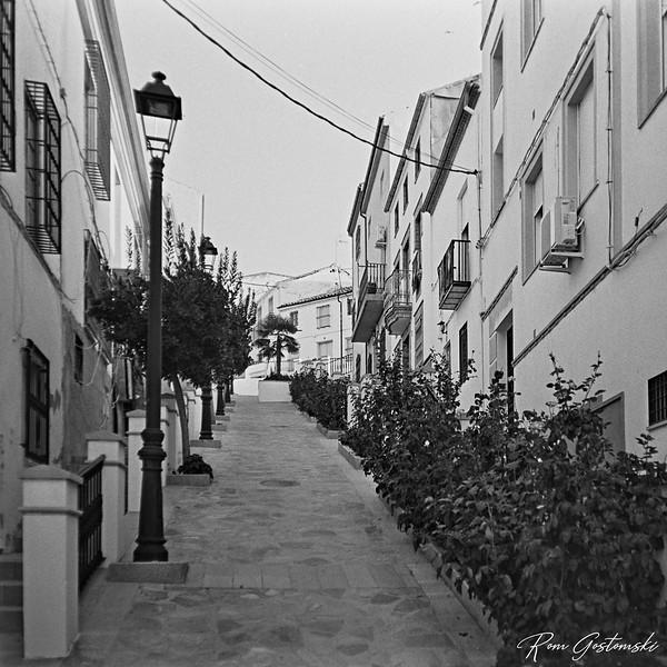 Carchelejo, Carchelejo. A pretty pedestrianised street