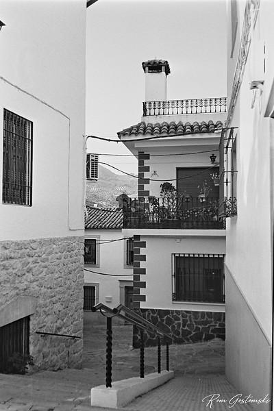 Carchelejo. A pedestrianised street