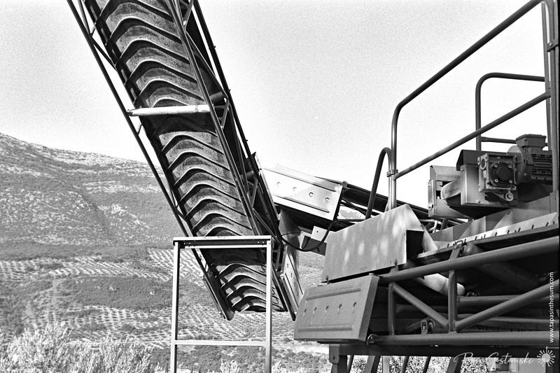 The conveyor belt