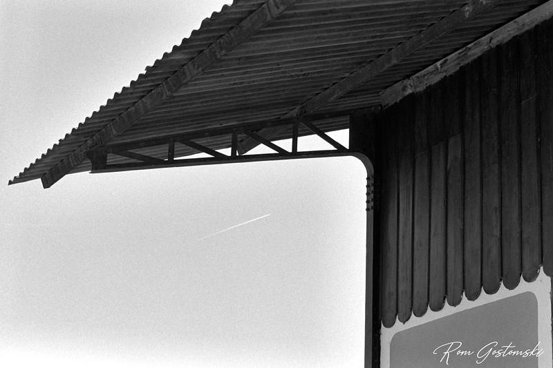 Roof overhang - Vado Jaén Station