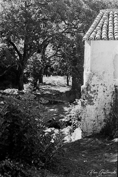 An old water mill outside Júzcar