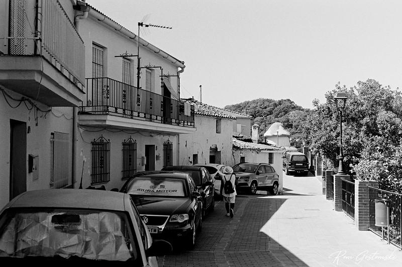 A street in Júzcar