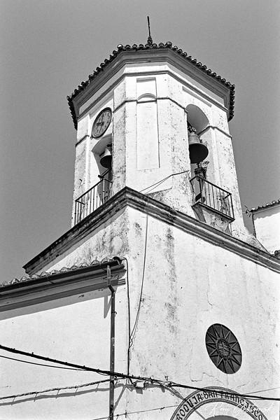 Iglesia de San Francisco de Asis bell tower, Jubrique