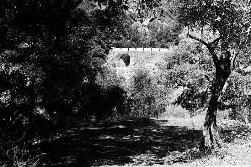 """Bridge over Río """"Las Zuas"""", Júzcar"""
