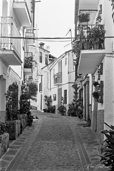 Pretty narrow streets of Jubrique