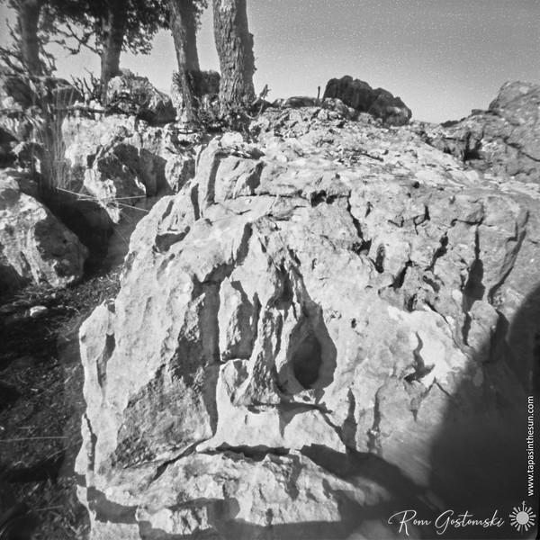 El Chorro near Cazorla. An interesting rocky outcrop.