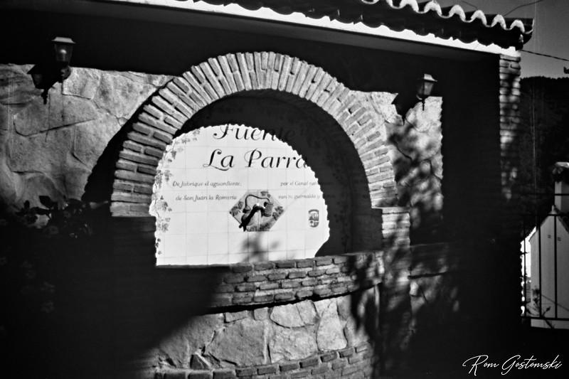 Through the pinhole - Fuente la Parra, Jubrique