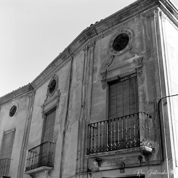 A grand abandoned house in Alcaudete