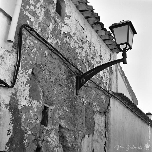 Street light in Alcaudete
