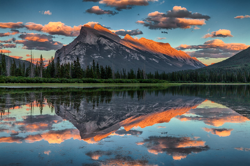 Mt Rundle Reflection