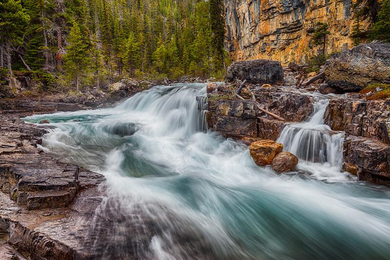 North Saskatchewan River Canyon