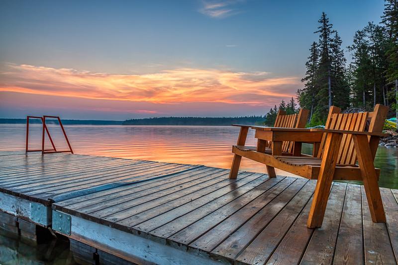 Clear Lake Sunrise