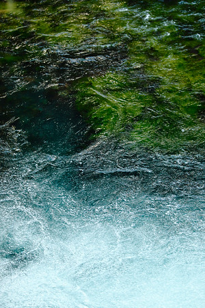 Water of Life.  Color and Light swirl and dance, playing in the powerful and deep waters of the McKenzie River below Sahalie Falls.