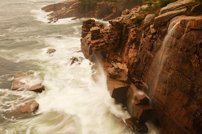 Acadia National Park ocean view after a storm