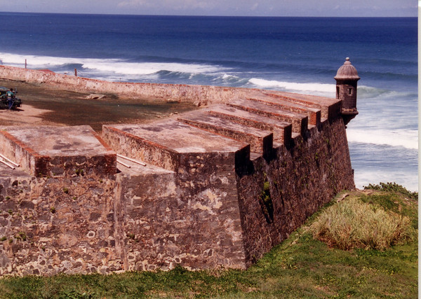 El Morro Battlement 1