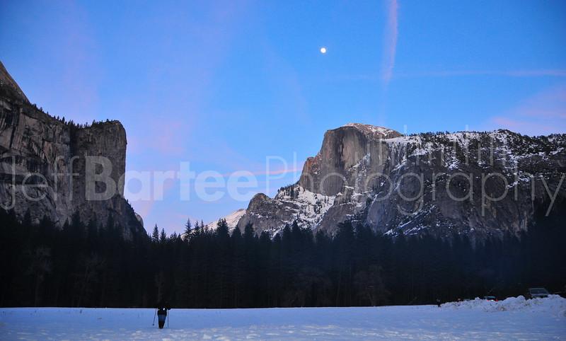 Yosemite Valley, Dusk