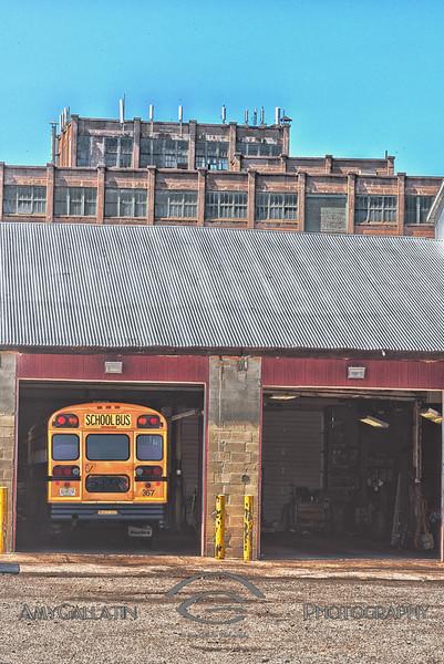 """School Bus Garage"""