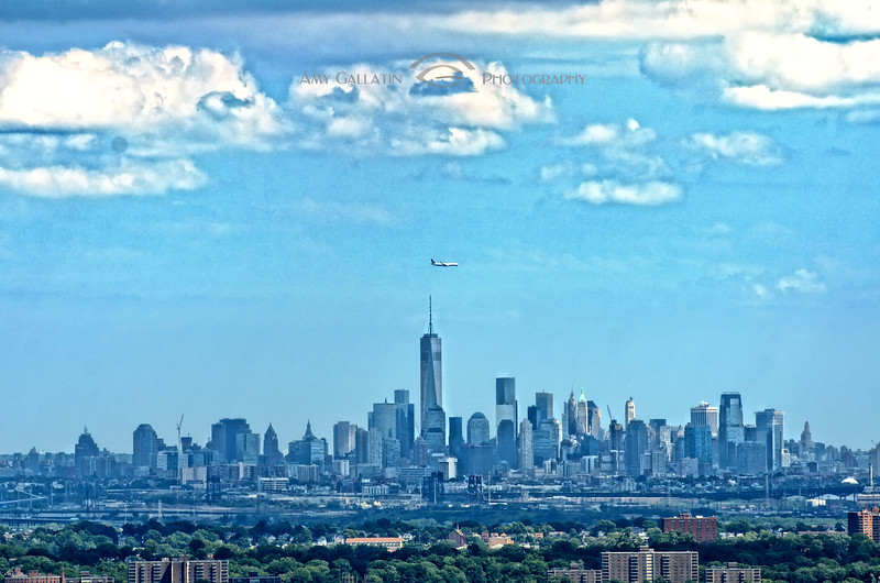 """© Amy Gallatin, all rights reserved.  """"Freedom Tower NYC Skyline"""" 6887"""