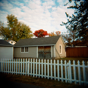 Picket Fence in the am, Mt Healthy, Ohio