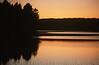 Last Light Over Lake Maranacook, Maine