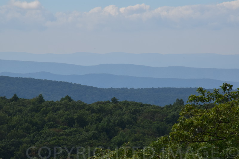 Appalachian Mountains from Virginia's Blue Ridge