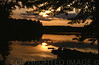 Night Falls Over Maranacook Lake, Maine