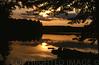 Night Falls Over Maranacook Lake, Maine