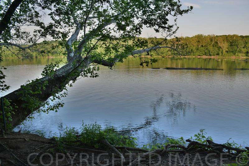 Quiet Potomac above Washington
