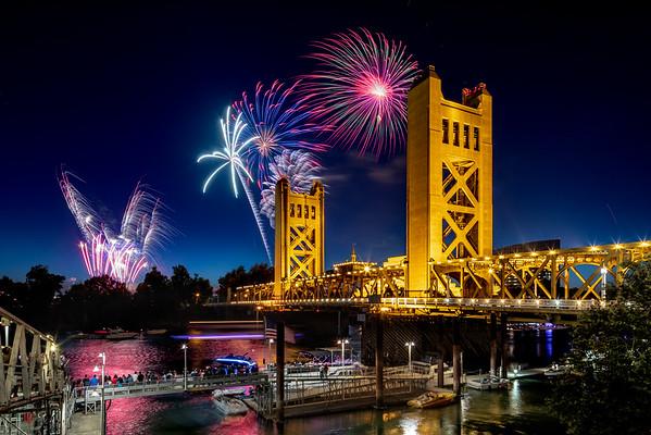 4th of July Fireworks Celebration