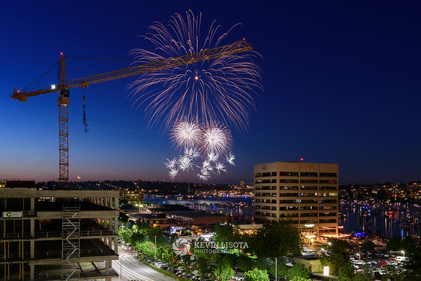 4th of July Fireworks - Seattle 2015