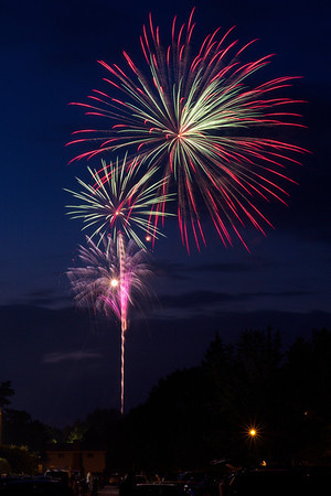 Irondequoit Fireworks - July 4, 2013