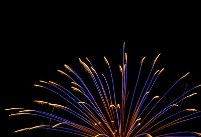 Romeoville, Illinois Fireworks Show, July 3, 2013