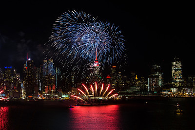 Lunar New Year Fireworks over NYC - January 2017