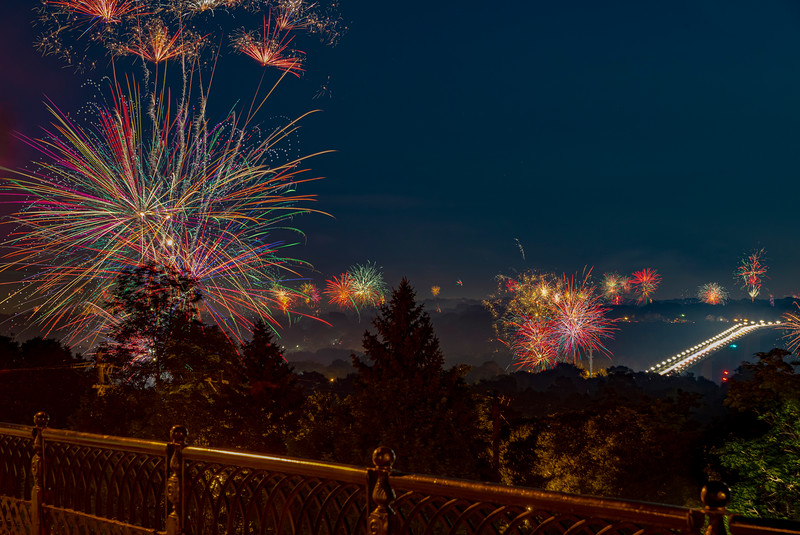 Independence Day Pandemic Fireworks