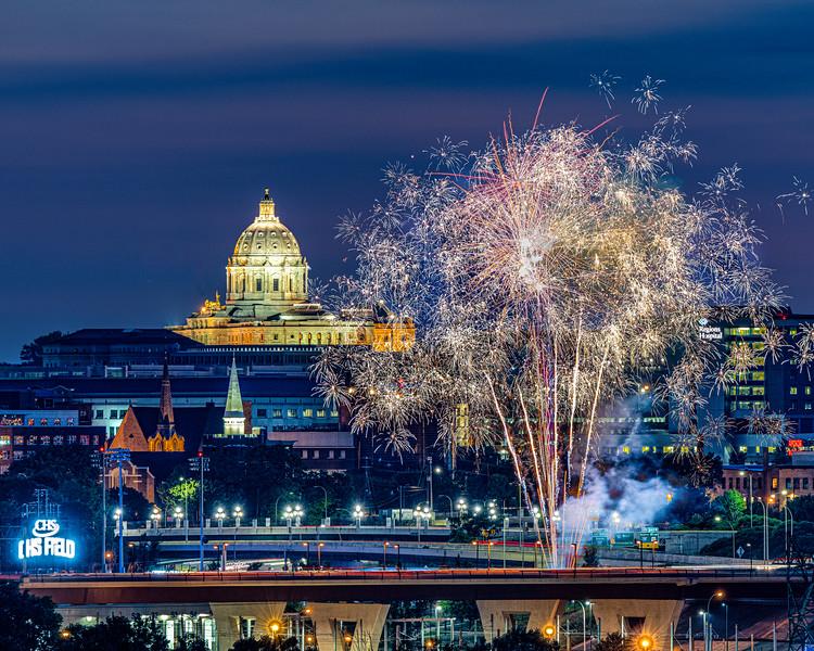 July 3rd CHS Field Fireworks
