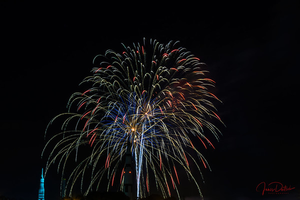 Saturn V Fireworks