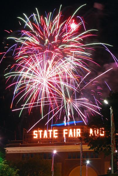 State Fair Fireworks 2007