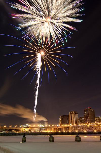 Winter Carnival Fireworks