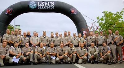 Levi's GranFondo 2011, Start Line