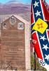 New Mexico - Monument to Texas Confederates in Socorro cemetery - 2-24-12-C1  -0002 - 72 ppi