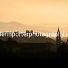 An evening in Florence, Italy (Colour) – taken from Piazzale Michelangelo.