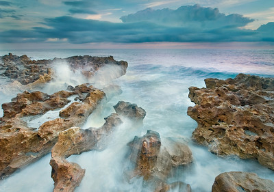 Coral Cove County Park in Jupiter Inlet, Florida