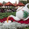 Christmas Spode teapot