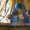 Ballons exhibit inside 'The Land' pavilion