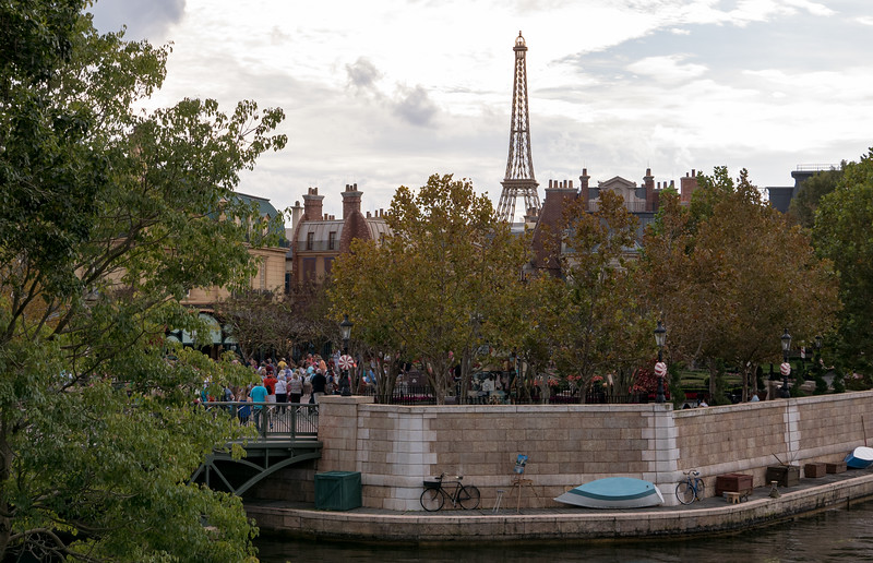 The Eifel Tower within the France Pavilion